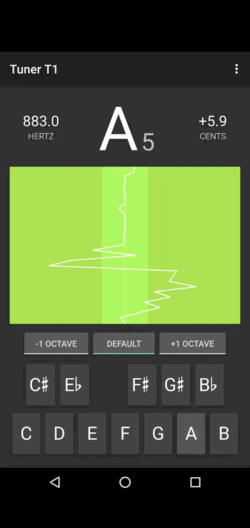 Tuner T1 is a good app for hammered dulcimer tuning